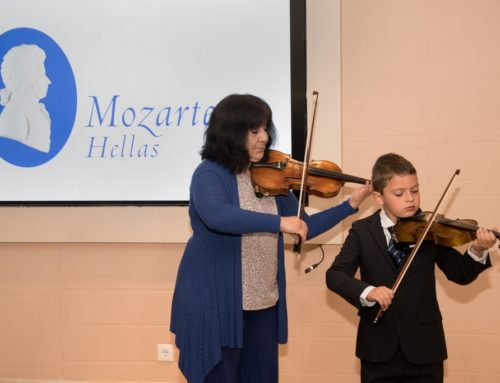 2 May – Inaugural Mozarteum Hellas Reception & Mozart's Costa Violin