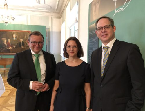 Visit of Mozarteum Hellas President and Secretary General in Salzburg Mozarteum Foundation