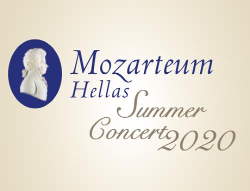 Mozarteum Hellas Summer Concert – 13 July 2020