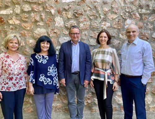 Mozarteum Hellas Board met with the new CEO of Mozarteum Foundation of Salzburg